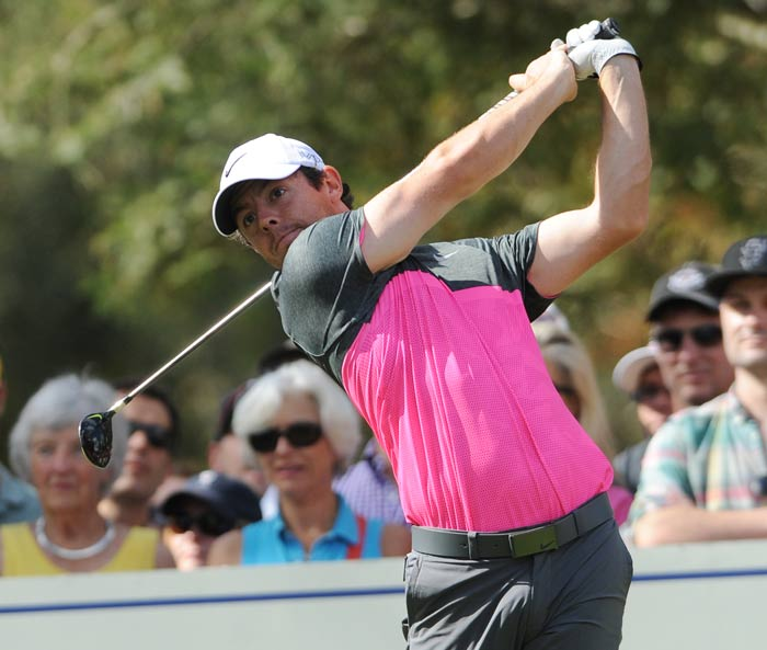 Rory plays the Silverado Country Club and Spa