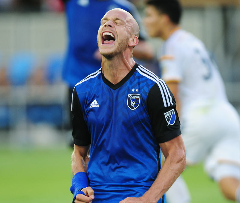 San Jose Earthquakes head coach Dominic Kinnear